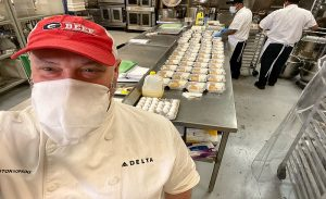 Delta Donates 200,000 Pounds of Food to Hospitals, Food Banks