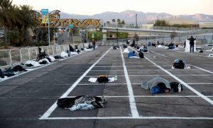 Las Vegas Parking Lot Turned Into 'Homeless Shelter'; Look Beyond Right-Wrong & Do Good