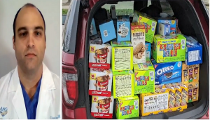 Atlantic Health Nurse Gives Hope to People During Corona Times by Providing Food