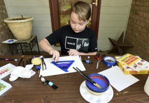 'A Heart For Helping Others': 12-Year-Old Raising Money By Selling Artwork