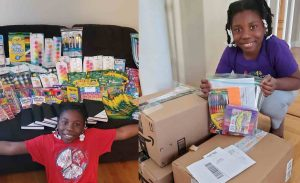 Good Samaritan 10-Year-Old Gives Art to 1,500 Kids in Foster Care and Shelters