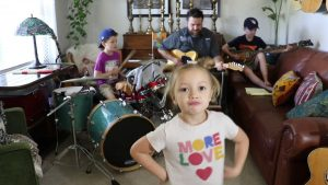 Family Band Makes And Shares Music From Their Living Room