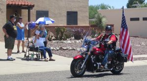Veteran Celebrates 100 with a Big Parade Arranged by his Daughter-in-law