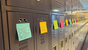Anonymous Good Samaritan Spreads Messages of Love in High School