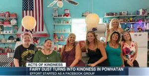Acts of Kindness: Powhatan Woman Rewarded for Starting Facebook Support Page