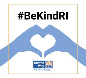 United Way Launches #BekindRI Challenge To Encourage Random Acts Of Kindness
