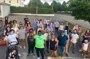 75 Neighbors and Friends Walk with Black Man Afraid to Walk In His Community