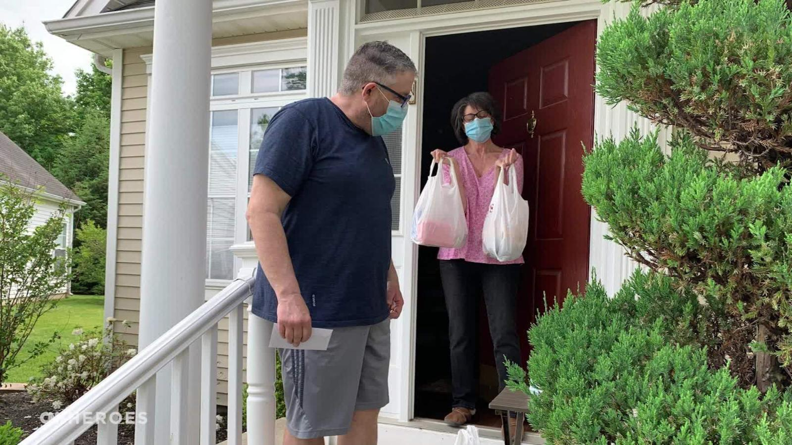 Good Samaritan Greg Dailey is making deliveries to seniors in need.