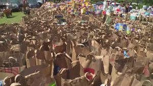 Good Samaritan Minneapolis School Donating Food to Students Who Don't Have Access to Groceries