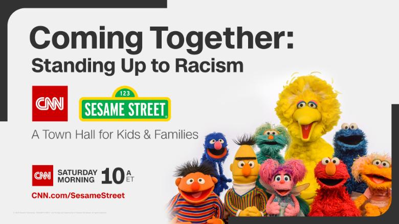 Sesame Street Held Town Hall to Address Racism