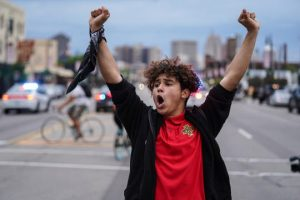 Inspired 16-Year-Old Teen Leads Peaceful Protest in Detroit
