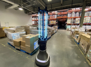 Doing Good: MIT Scientists Build UV Robot that Disinfects Local Food Bank in 30 Minutes