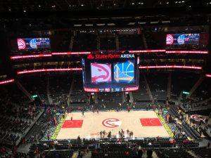 NBA's Atlanta Hawks Doing Good Turning Their Arena into Polling Site