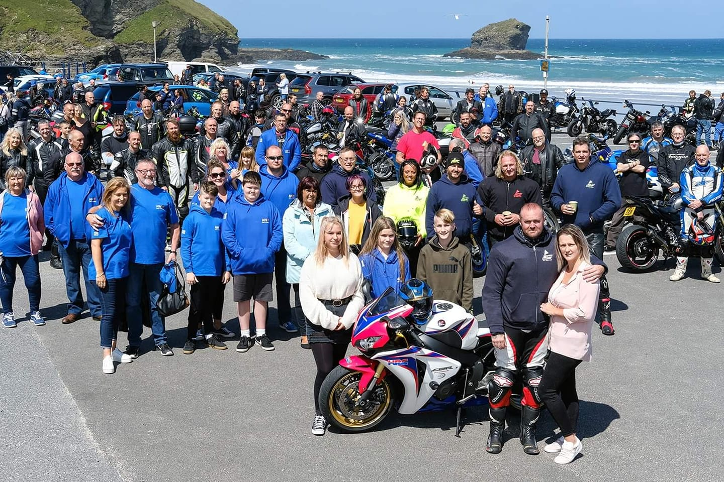 Terminal Cancer Patient Steve Inspires 100s of Fellow Bikers to Support NHS Fundraiser