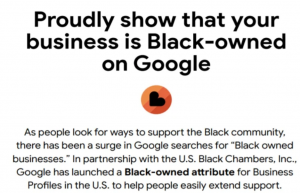 Read more about the article Google Is Adding A New Feature To Help Black-Owned Businesses