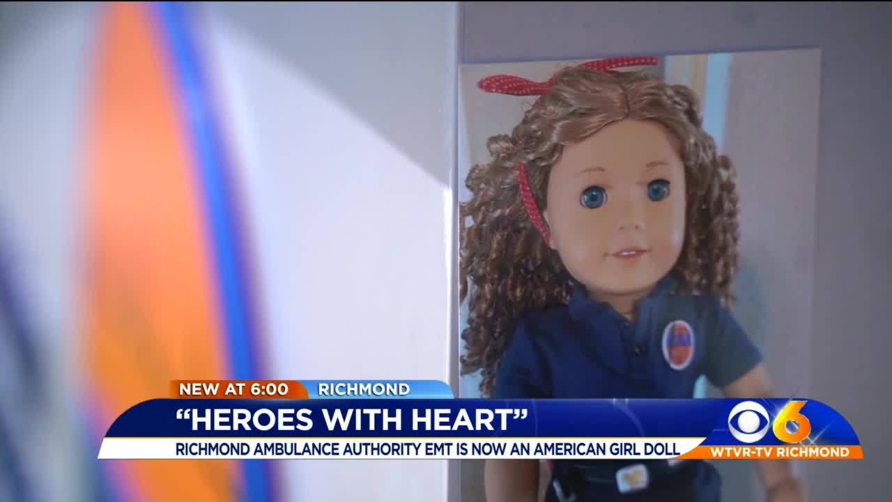 American Girl Company Doing Good Turning Frontline EMT Medic Into Doll