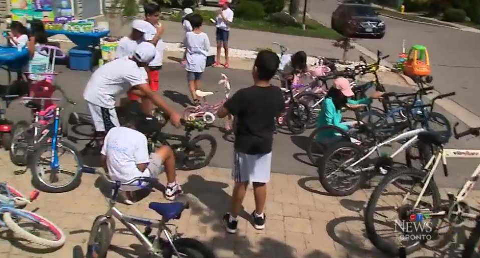 Family Starts 'Kids Who Care' Initiative in Toronto to Help Kids in Need