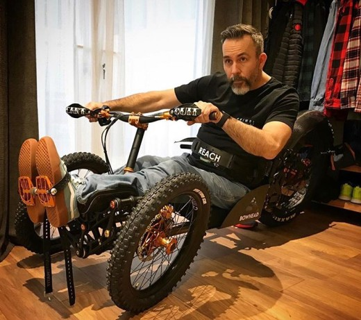 He Designed a Mountain Bike For Disabled People – Like Himself
