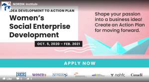 Nordik Institute Starts Program to Help Women Develop Social Enterprise