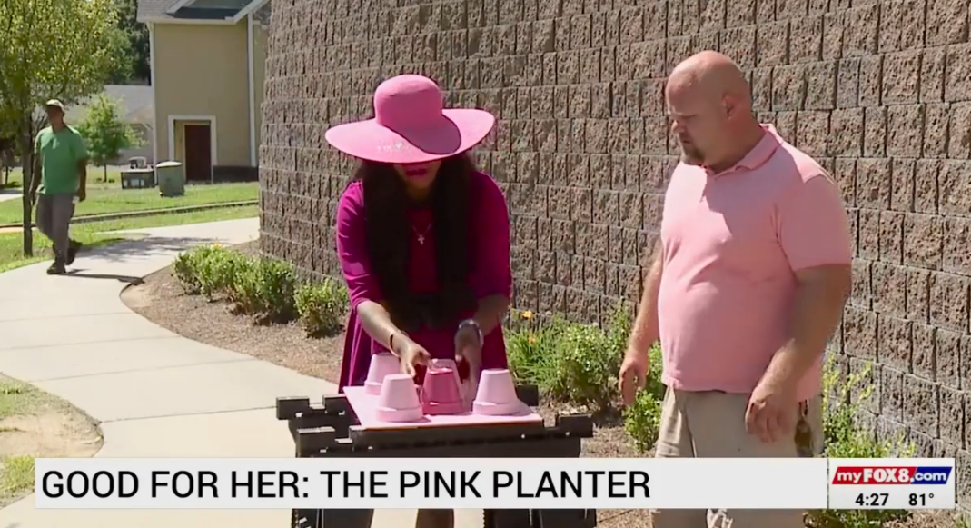 Breast Cancer Survivor Donating Plants to Help Others Cope With Anxiety