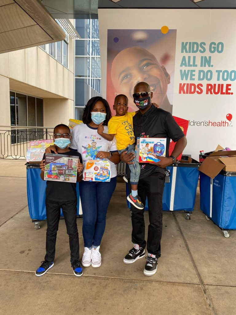 9-Year-Old Fifth Grader Donates 600+ Toys to a North Texas Children's Hospital