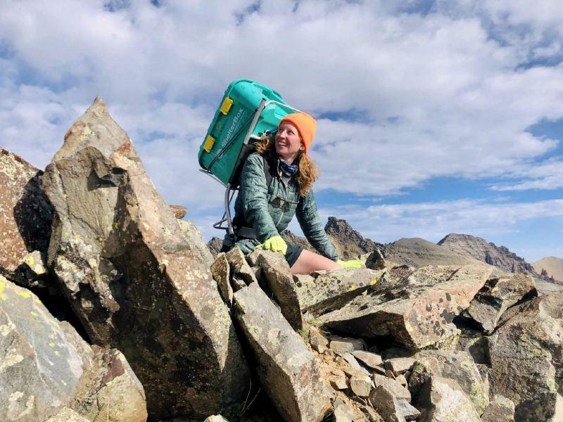 Woman Raises $85K During Health Crisis by Climbing Colorado Mountains
