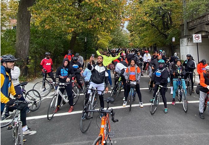 Cyclist Organizes Rides that Highlights Community and Black-Owned Businesses