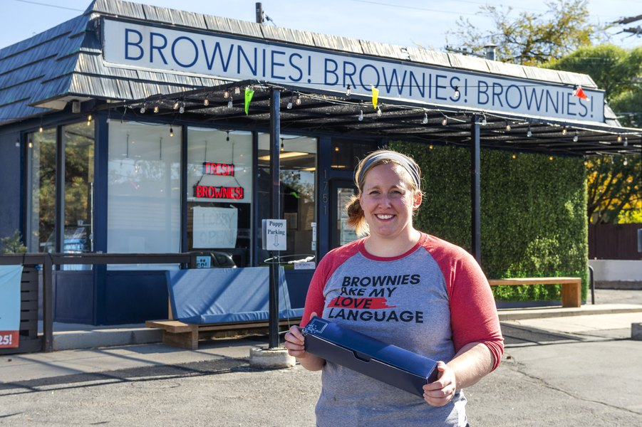 Salt Lake City Brownie Bakery Owner Honored For Helping Other Small Businesses