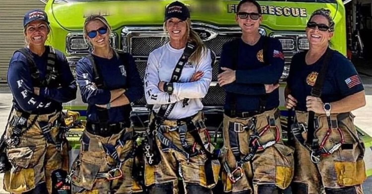 Meet The All-Female Fire Crew That Just Created History