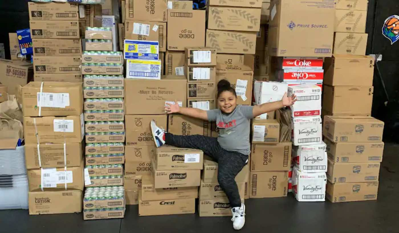 Doing Good: Bullied 7-year-old Opens Massive Food Bank