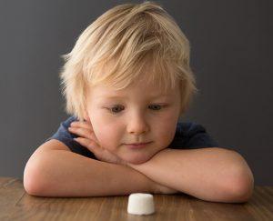 Don't eat that marshmallow!